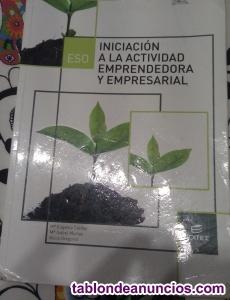 3º eso libros de iniciacion a la actividad emprendedora y