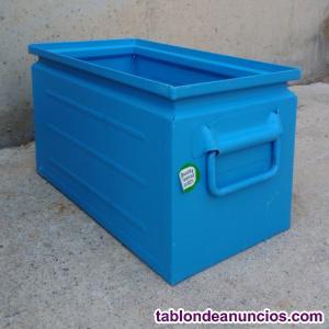 Caja apilable metálica 14 litros