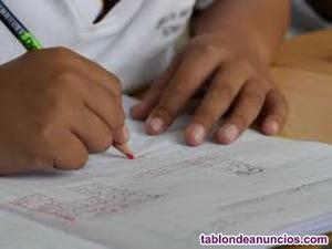 Clases particulares infantil, primaria y secundaria