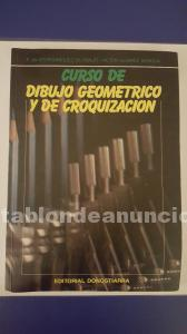 Curso de dibujo geometrico y de croquizacion (en papel)
