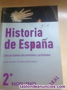 Libro de fuentes documentales y actividades de historia de