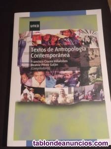 Libro: textos de antropología contemporánea