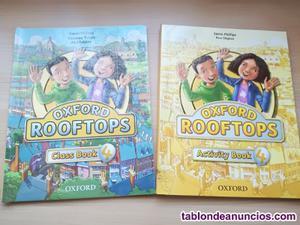 Libros de ingles 4 primaria oxford rooftops