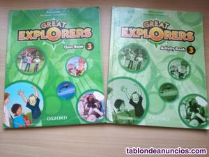 Libros de ingles great explorers 3 primaria oxford