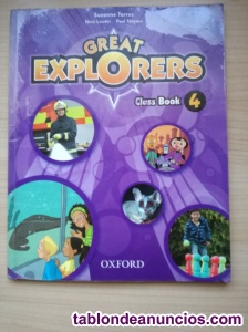Libros de ingles great explorers 4primaria oxford