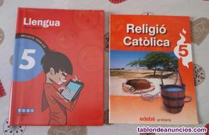 Libros quinto de primaria