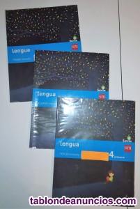 Lote libros de 4º primaria (colegio altagracia)