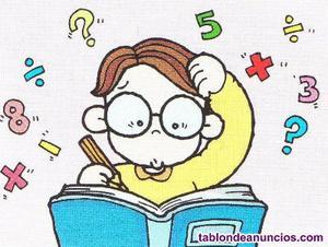 Matematicas, clases particulares a domicilio