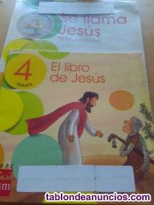 Se llama jesús. Religión católica 4 prim sm