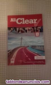 Vendo all clear 1º eso student´s book