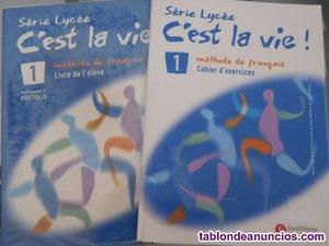 Vendo libro de francés c'est la vie! de primero de