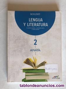 Vendo libro de texto de lengua 2ºbachiller