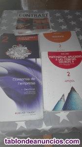 Vendo libros 1 y 2 bachillerato