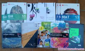 Vendo libros de texto de 1ºeso