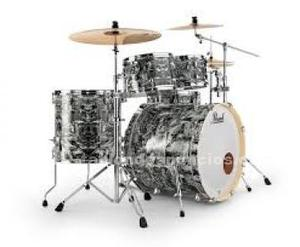 Bateria acustica,marca- pearl ex limited serie