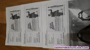 Vendo 3 sobres y regalo 3 entradas para concierto de dani