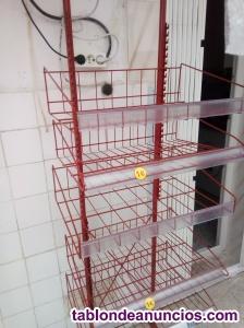 Estanterias metálicas para tienda