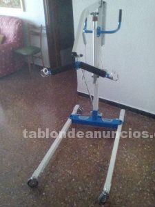 Grua electrica para discapacitados