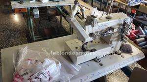 Lote de maquinas de coser industriales