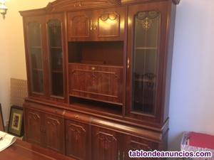 Mueble con vitrinas