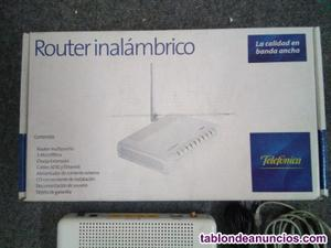 Router adsl inalambrico