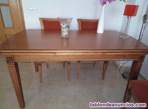 Se vende mesa comedor madera