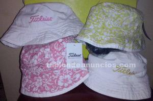 Sombreros titleist reversibles de señora