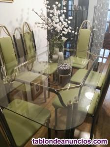 Vendo mesa y sillas comedor