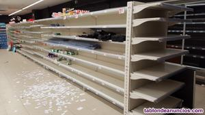 Venta estanterias y caja supermercado