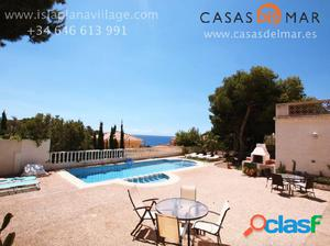 251. LOVELY TWO VILLAS ON 900M2 PLOT – POOL – SEA VIEWS