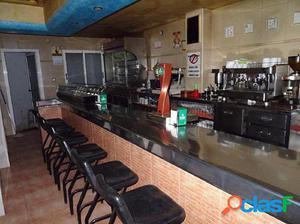 ALQUILER DE BAR-CAFETERIA EN ASPE EN ZONA MERCADONA EQUIPADO
