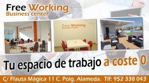 Alquiler de coworking y despachos