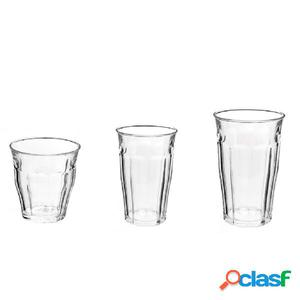 DURALEX Conjunto de vasos de 18 piezas Picardie 526757