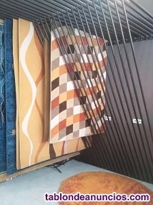 Expositor de alfombras