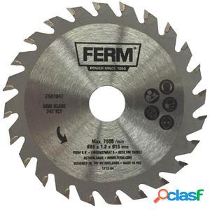 FERM Hoja de sierra de precisión 24T TCT 85 mm CSA1047