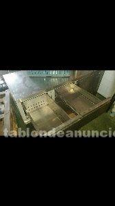 Mesa de acero inoxidable refrigerada