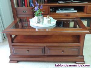 Mesa de sofá y mesa auxiliar