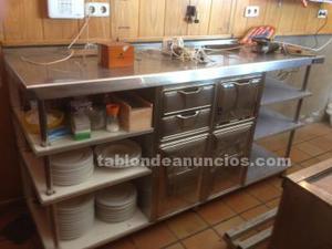 Muebles en acero inxidable