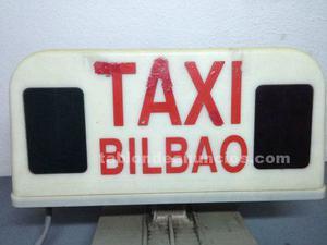 Se vende licencia de taxi bilbao