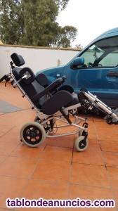 Silla de ruedas basculante balance 320