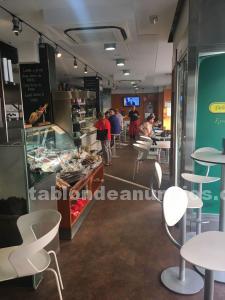 Traspaso bar restaurante 170m² con terraza en zona legazpi