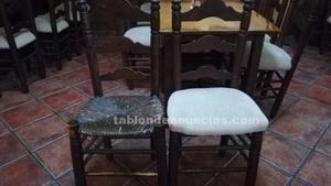 Urge vender sillas anea tapizadas