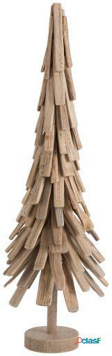 Wellindal Árbol de navidad capas madera grande