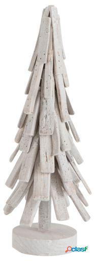 Wellindal Árbol de navidad capas madera pequeño