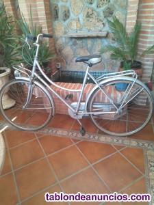 Bicicleta bh de paseo antigua