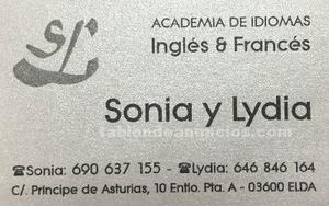 Clases ingles y frances