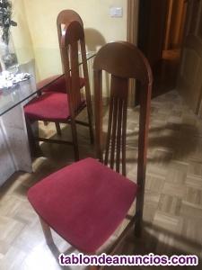 Vendo 6 sillas de salón/comedor