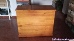 Venta de un baul de madera provenzal