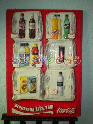 Antiguo cartel de Coca Cola