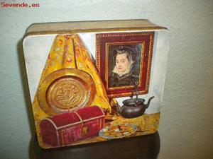 Caja de galletas Fontaneda
